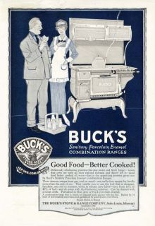 buck s stove range ad 1920 time left $ 7