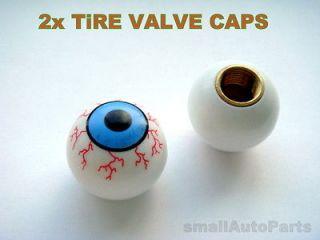 BALL Tire/Wheel Stem Valve CAPS Covers for Motorcycle Bike ATV Chopper