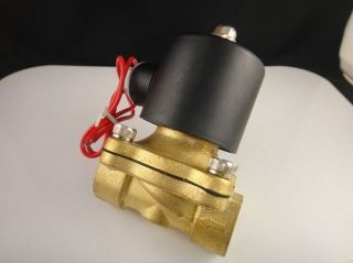 Electric Solenoid Valve Water Air N/C 12V DC 1/4