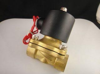 Electric Solenoid Valve Water Air N/C 12V DC 1/4