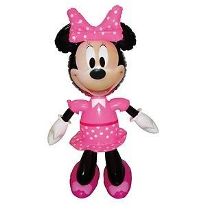 inflatable minnie mouse disney character 52cm tall  4 81