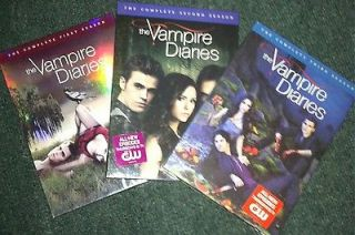 Newly listed The Vampire Diaries 1 3 The Complete DVD Set Seasons 1 2