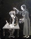 Joan Baez Dumps Noodles on Bob Dylan. original DYLAN piece by Kata