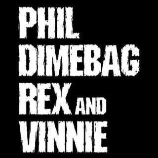 PHIL DIMEBAG REX VINNIE metal gods pantera fan SCREEN PRINTED Tshirts
