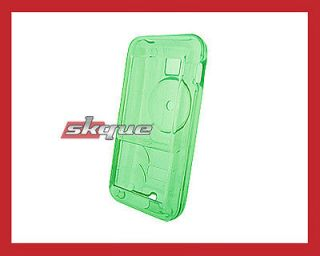 Green Crystal Hard Shell Case Cover Protector for Creative Zen Mozaic