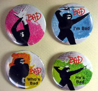 michael jackson buttons in Entertainment Memorabilia