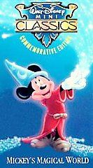 Walt Disney Mini Classics   Mickeys Magical World VHS, 1991