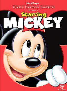 Walt Disneys Classic Cartoon Favorites Starring Mickey (DVD, 2005