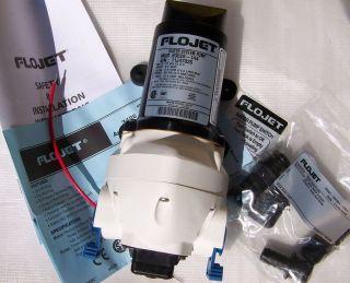 Flojet 12 Volt RV Marine Water Pump 2.9 GPM Triplex 03526 144A