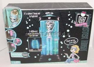 NEW Monster High Lagoonas Blue Dead Tired Hydration Station w/Doll