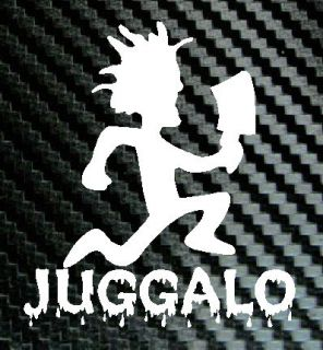 icp juggalo hatchetman hatchet man decal vinyl sticker time left