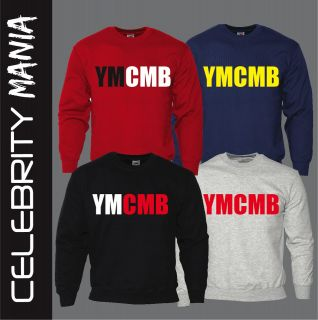 YMCMB YOUNG MONEY SWEATSHIRT JUMPER SWEATER LIL WAYNE DRAKE NEW