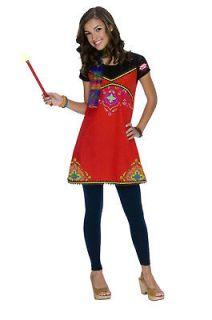 Wizards of Waverly Place Child Alex Boho Witch Costume Size L