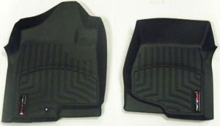 WeatherTech Black Floor Liners 2011 2012 Ford Edge Lincoln MKX Front