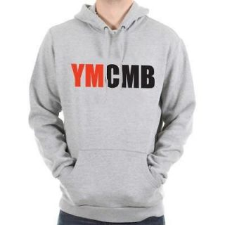YMCMB Rap Young Money t shirt cd Lil Wayne Weezy L Hoodie GRAY