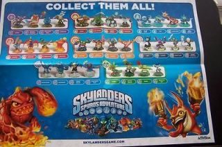 Spyros Adventure Poster All 32 Characters Cynder Whirlwind Ignitor