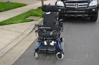 ATO TDXSP CG chair tilt electric power wheelchair wheel chair