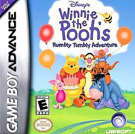 Winnie the Poohs Rumbly Tumbly Adventure Nintendo Game Boy Advance