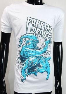 Drive Horizons Deep Blue Wolf Alternative Rock Tee Shirt S,M,L,XL