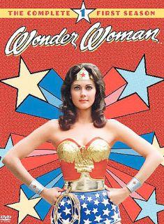 Wonder Woman   The Complete First Season DVD, 2004, 3 Disc Set