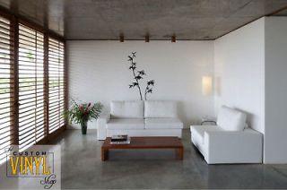 bamboo asian vinyl wall decal sticker decor art time left