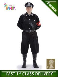 40s German WW2 GESTAPO OFFICER Uniform fancy dress costume World War 2