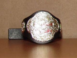 DELUXE ECW WORLD HEAVYWEIGHT TITLE wwe wwf figure BELT jakks PAINTED