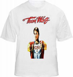 teen wolf t shirt movie film fox teenwolf werewolf tee