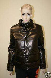 yohji yamamoto adidas women puff leather jacket m