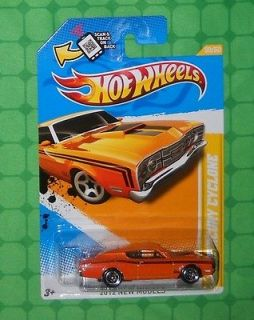 2012 hot wheels new models 50 69 mercury cyclone time