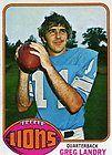 1976 JIM YARBROUGH DETROIT LIONS TOPPS NFL CARD 21