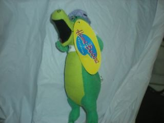 hanna barbera wally gator alligator plush yogi nwt 11 time