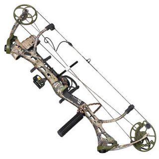 New 2012 Bear Archery Mauler RH Compound Bow Pkg 70 RH 1/2 Dz Arrows