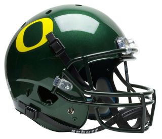 oregon ducks schutt air xp replica football helmet time left