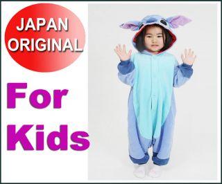 Disney Lilo & Stitch costumes for kids Kigurumi Japan pajamas