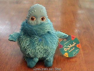 RAGDOLLS BOOHBAH JUMBAH SHAGGY BLUE PLUSH & VINYL STUFFED DOLL TOY 7
