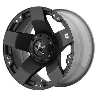 20x8.5 KMC XD Rockstar Black Wheel/Rim(s) 6x139.7 6 139.7 6x5.5 20 8.5