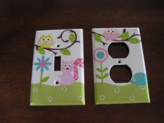 OUTLET m w Kids line Happi Dena tree owl flowers squirrel crib