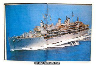 USS Piedmont Ad 17 Westpac Vietnam 1968 Cruise Book