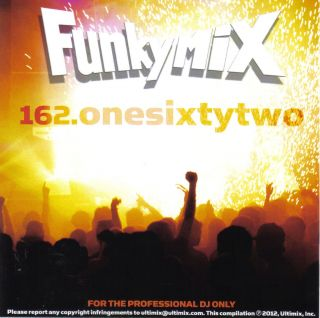 Funkymix 162 CD Ultimix Records 2 Chainz R Kelly Usher Nicki Minaj
