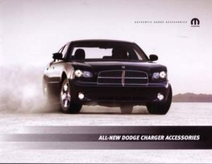 2006 Dodge Charger Accessories Sales Brochure Book