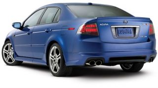 New Genuine 2007 2008 Acura TL Type s A Spec Body Kit Rear Lip Under