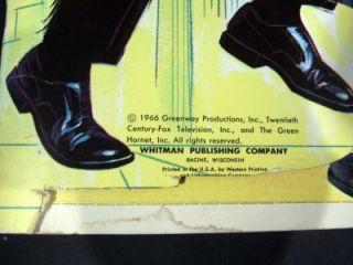 vintage 1966 green hornet playbook 20th century fox