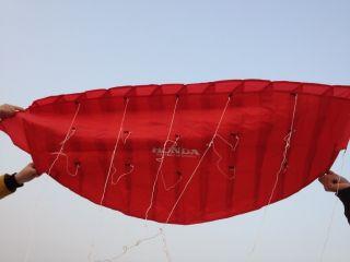 Line HONDA Sport POWER Kite Stunt Parafoil POWER Sport Kite Outdoor