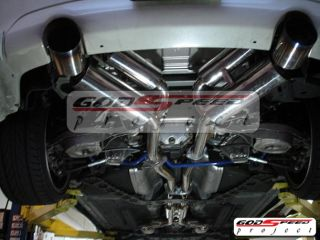 GSP 350Z Z33 G35 Coupe 2dr Stainless Steel Racing Catback Exhaust