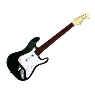 Xbox 360 Rock Band 3 Wireless Fender Stratocaster Guitar Controller