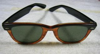 Original Rayban Sunglasses. Old and Rare black   brown model.