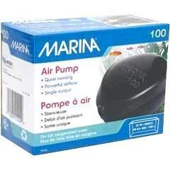 Marina 100 Air Pump Quiet Aquarium Fish Tank 40 Gallon