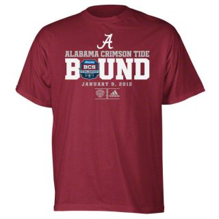 Alabama Crimson Tide 2011 BCS National Championship Game Bound T Shirt
