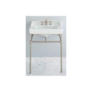 ... Porcher Pomezia 27 Console Sink Kit Biscuit Chrome 24550 00 071 ...